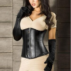 Leather Underbust Corset 1