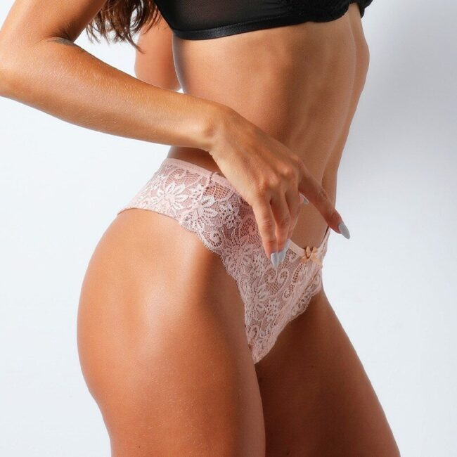 Lace Low-Rise G-String Thong  2