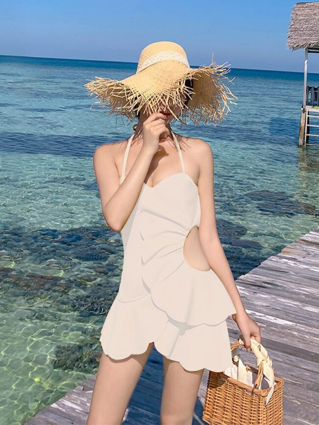 Hot Springs-One-piece Swimming Suit  3