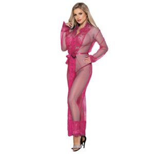 Lace Long Sleepwear Gown  1