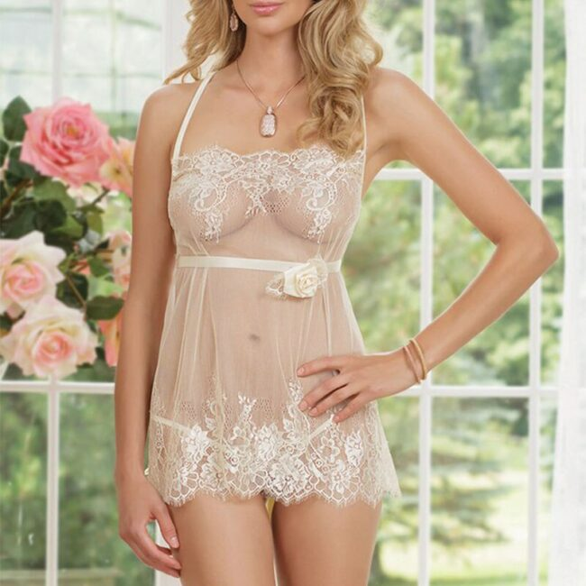 Lace G-String Babydoll 4