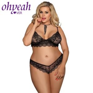 Lace Lingerie - Plus Size  1