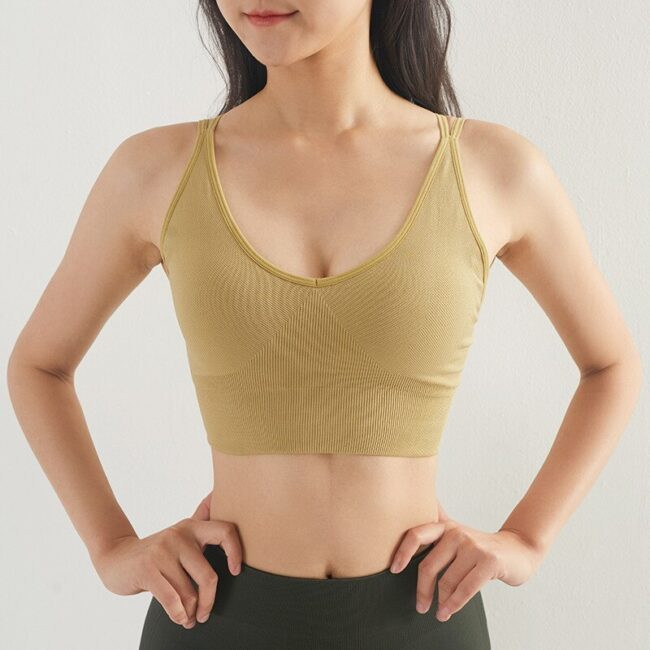 Seamless Yoga Bra 5