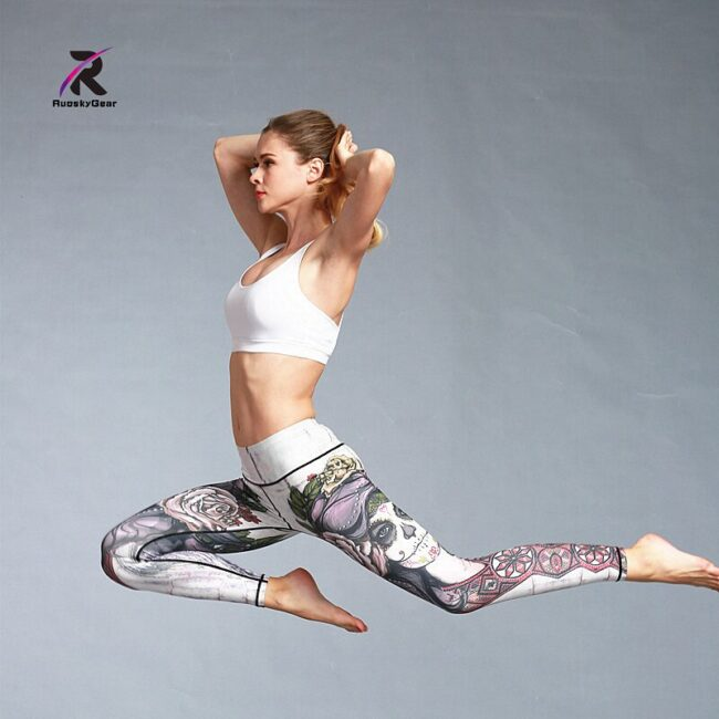 Quick Dry Printed Legging 5