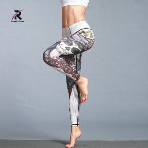 Quick Dry Printed Legging 1