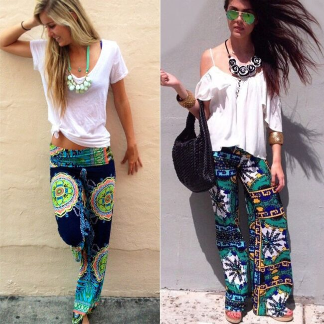 Long Stretch Straight Wide Pants  5