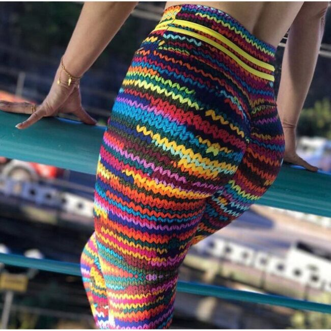 Woolen Knitted Yoga Pants  2