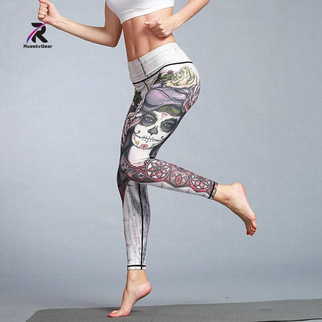 Quick Dry Printed Legging 4