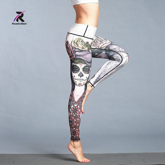 Quick Dry Printed Legging 2