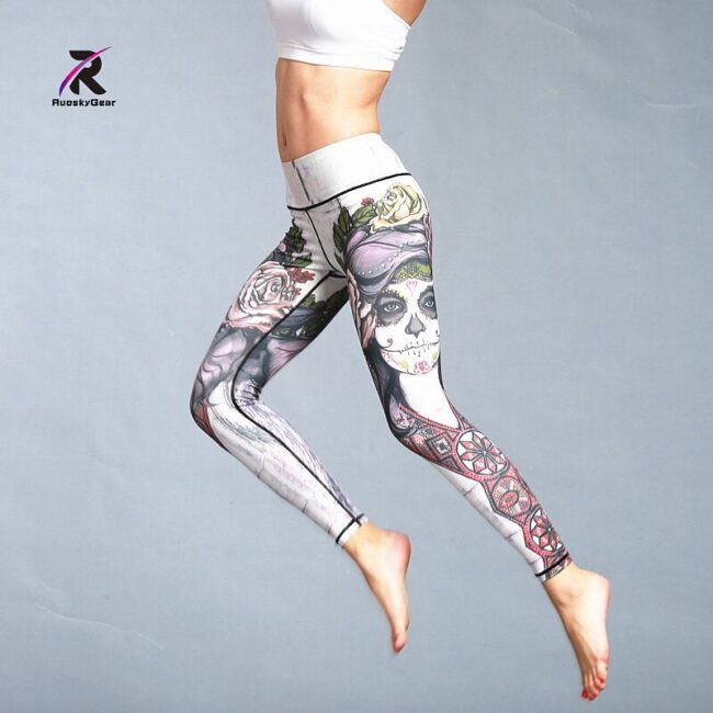Quick Dry Printed Legging 3