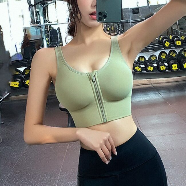 High-Impact Padded Sport Bra 1