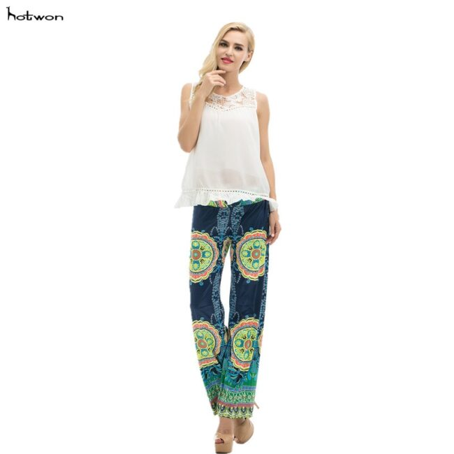 Long Stretch Straight Wide Pants  1